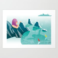 Illustre Conero - Two Sisters Art Print