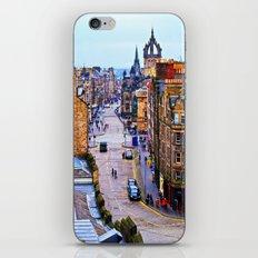 Edinburgh Royal Mile iPhone & iPod Skin