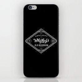 Old Bourbon Whiskey iPhone Skin