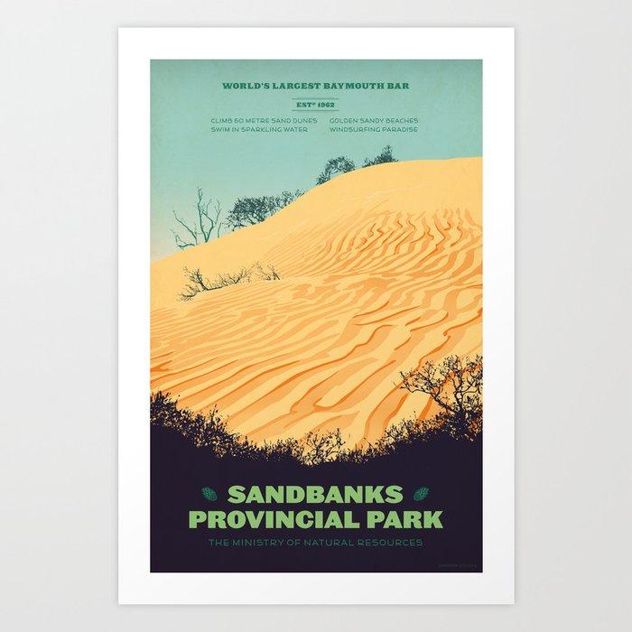 Sandbanks Provincial Park Poster Kunstdrucke