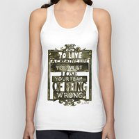 creativity Tank Tops featuring Creativity  by Lam Designs