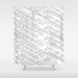 HVAC Shower Curtain