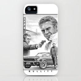 Steve McQueen Bullitt iPhone Case