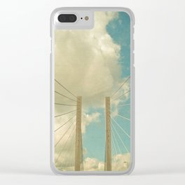 Over the Bridge Clear iPhone Case