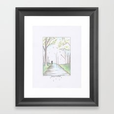 Petrichor Framed Art Print