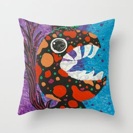 Chicken #Funny creature Series Throw Pillow