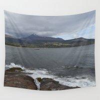 scotland Wall Tapestries featuring Isle of Arran, Scotland by Ashley Callan