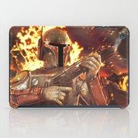 boba fett iPad Cases featuring Boba Fett by MATT DEMINO