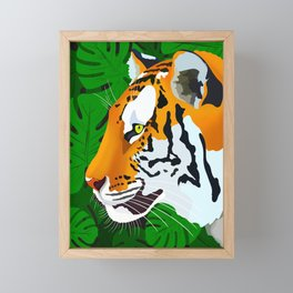 Jungle Tiger Framed Mini Art Print