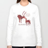 snape Long Sleeve T-shirts featuring Always by Rose's Creation