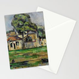 Paul Cezanne - Banks of the Marne  1888 Stationery Cards