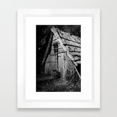Wood Workers House Framed Art Print