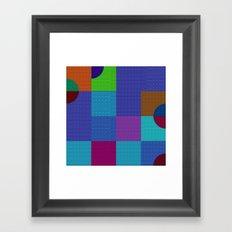b 1 1 1 - b 3 3 3 Framed Art Print