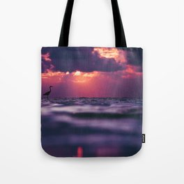 Maldivian sunset 8 Tote Bag