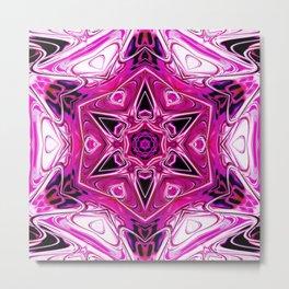 Star Flower of Symmetry 356 Metal Print