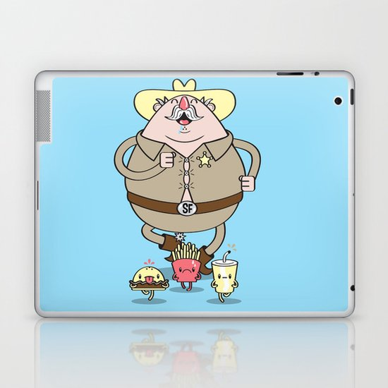 Sherif Fatman and Fast Food Laptop & iPad Skin