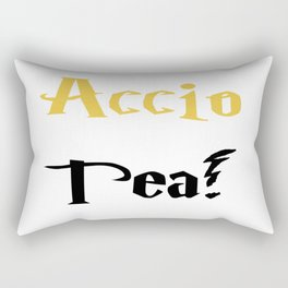 Accio Tea! (Gold) Rectangular Pillow