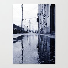 Another rainy day Canvas Print