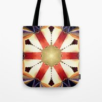 shield Tote Bags featuring Shield by Deborah Benoit