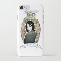 snape iPhone & iPod Cases featuring snape by hille