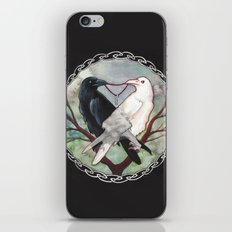 Huginn and Muninn iPhone & iPod Skin