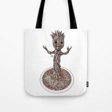 Baby Groot Tote Bag