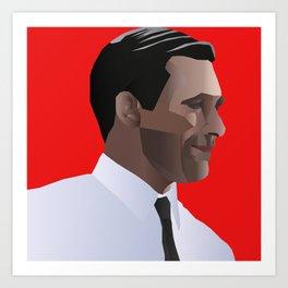 Mad Men star Don Draper Kunstdrucke