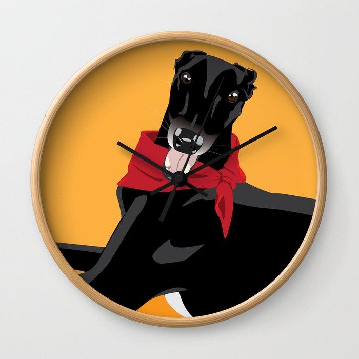 Dog is My Copliot Wall Clock