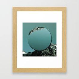 MDC MOUNTAIN Framed Art Print