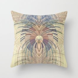 Deco Wood Throw Pillow