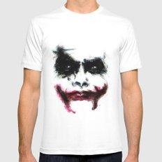 Joker Mens Fitted Tee White MEDIUM