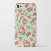 floral pattern iPhone & iPod Cases featuring FLORAL PATTERN by Allyson Johnson