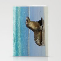 seal Stationery Cards featuring Seal by Mel Forshee