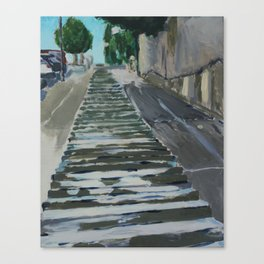 San Francisco Hill Canvas Print