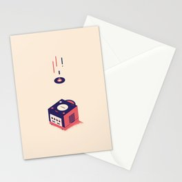 ElectroVideo GameCube (red) Stationery Cards