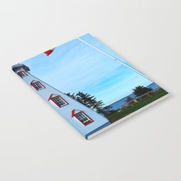 Lighthouse Panmure Island Notebook