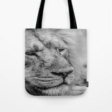 Face Of Thought Tote Bag