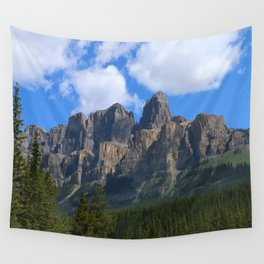Castle Mountain Wall Tapestry