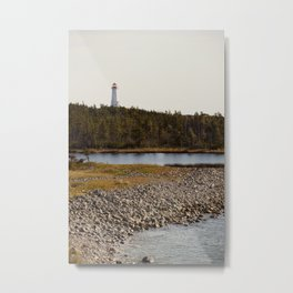 Louisbourg Lighthouse Metal Print