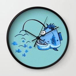 Wackydoodle Fish Mobile Wall Clock