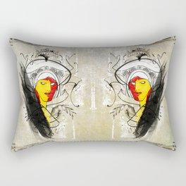 Too Much Sass for Your Ass Rectangular Pillow