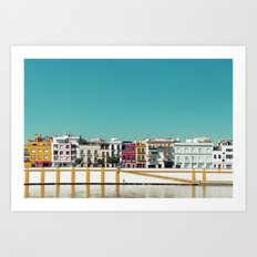 Triana, the beautiful Art Print