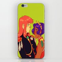 utena iPhone & iPod Skins featuring all men are pigs by Cori Walters