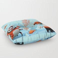 Dead Fish Floor Pillow