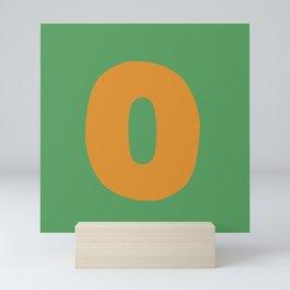 O is for Mini Art Print