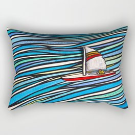 Wind Over Water Rectangular Pillow