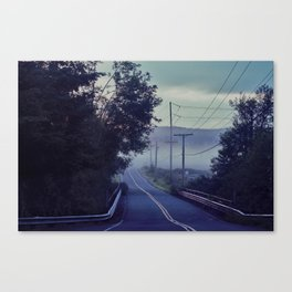 The morning Canvas Print