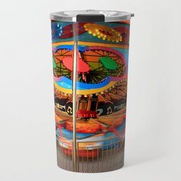 Pleasure Pier Carousel Travel Mug