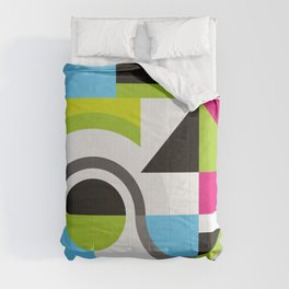 Creative Geometric Design Comforters