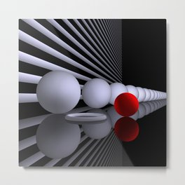 opart imaginary -5- Metal Print
